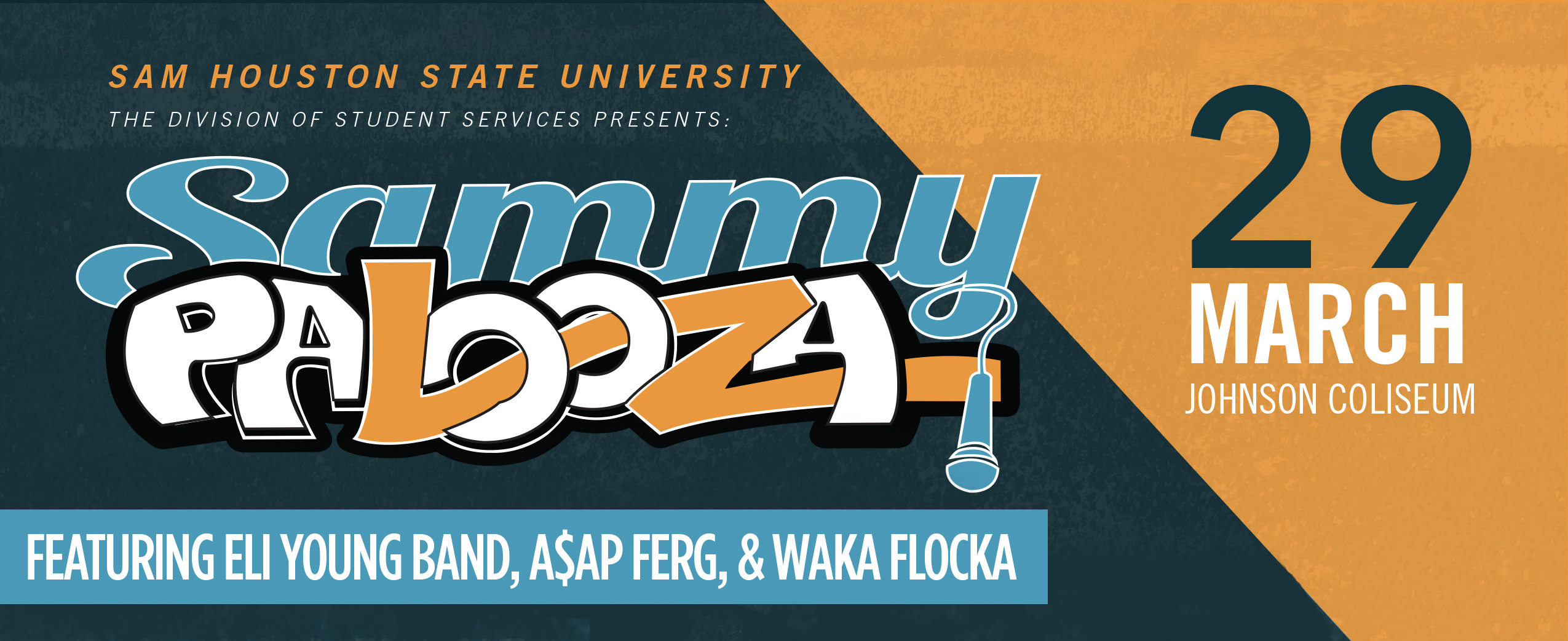 Sammypalooza 2017 featuring The Eli Young Band, A$AP Ferg, and Waka Flocka on March 29